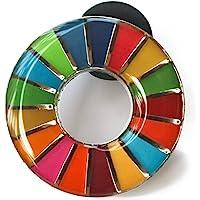 HoRoPii SDGs ピンバッジ 正規品 国連本部限定 バッチ バッジ 日本未発売 (丸み仕上げ(1個))