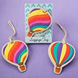 Hot Air Balloon Luggage Tags - Set of 2