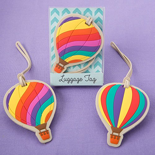 Hot Air Balloon Luggage Tags - Set of 2 by Fashioncraft