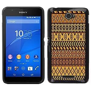 Dragon Case - FOR Sony Xperia E4 - Surrounded by unfamiliar air - Caja protectora de pl??stico duro de la cubierta Dise?¡Ào Slim Fit