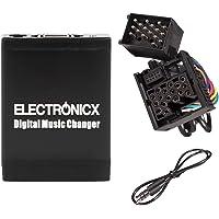 Electronicx Elec-M06-BM1 Adaptador de Musica para Coche USB