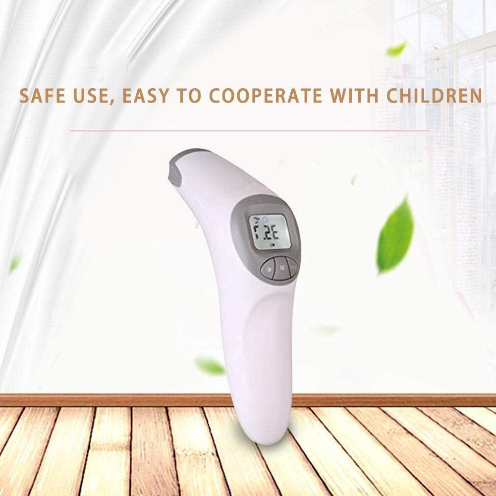Certificado por la FDA HEIRAO Term/ómetro para beb/és term/ómetro infrarrojo Digital para beb/és y Adultos Fahrenheit y Celsius Convertible