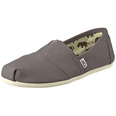 TOMS Women's Classic Slip Ons Ash Canvas 9 | Loafers & Slip-Ons