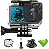 HL Trading Compatible with DJI Osmo Action Camera 61 Meters Waterproof Case Accessories Housing Case Diving Protective Housing Shell