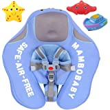 Upgrade Baby Infant Soft Solid Non-Inflatable Float Lying Swimming Ring Children Waist Float Ring Floats Pool Toys Swim Trainer Classic Swim Ring