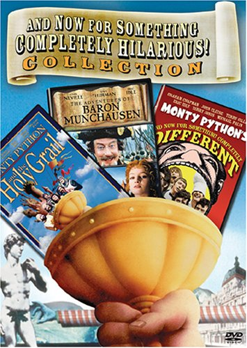 The Monty Python Box Set (Monty Python & The Holy Grail / And Now For Something Completely Different / The Adventures of Baron Munchausen) by Sony