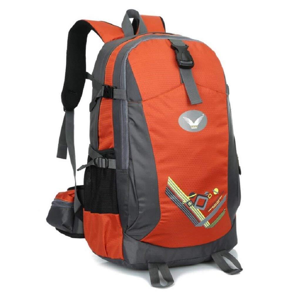 Pureed Outdoor Kletterrucksack Wandertour Bergsteigen Nylon Material Solid Wear Verstellbarer Rucksack (Farbe   A, Größe   36-55L)