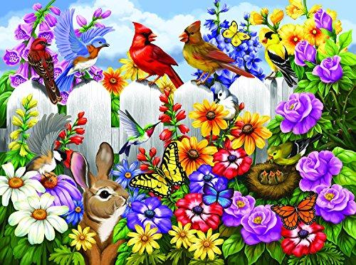 Garden Gossip 300 pc Jigsaw Puzzle by SunsOut ()