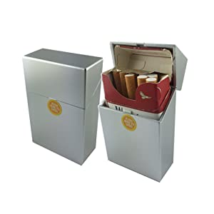 Offre Lagiwa - Etui à paquet de 20 cigarettes couleur au choix avec 1 cadeau bonus