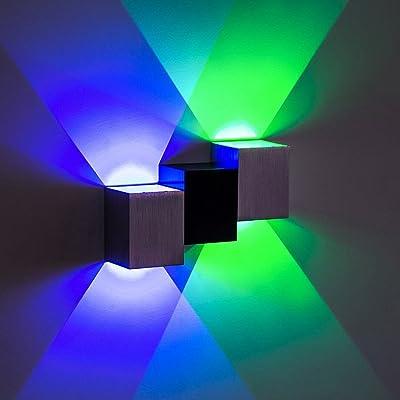 Applique mural créative moderne, applique mur de couloir, éclairage domestique, appliques murales TV.