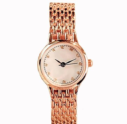 Reloj de mujer resistente al agua Reloj de mujer 2018 Nuevo estudiante Tendencias Pulsera: Amazon.es: Relojes