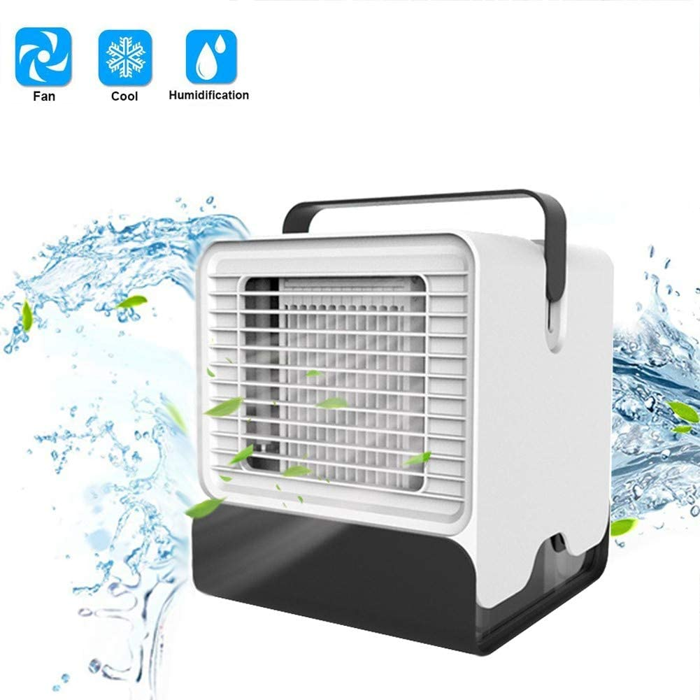 WFANX Air Portatil Cooler 3-en-1 Mini Ventilador Humidificador ...