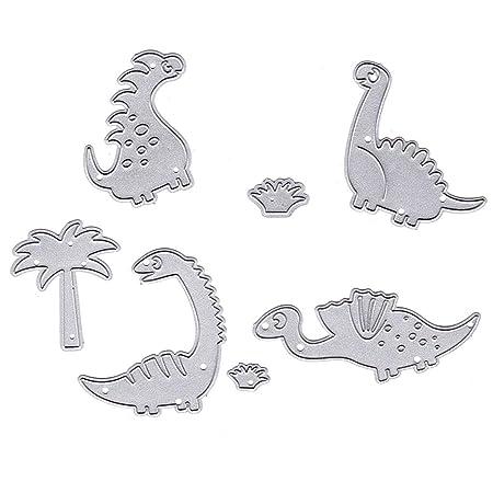 Plantillas De Metal Con Diseño De Dinosaurio Para