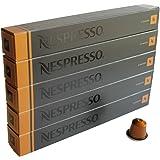 Nespresso Espresso Livanto, Pack of 5, 5 x 10 Capsules