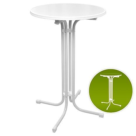 Table Haute de bistrot Pliante - Mange Debout - Ronde ...