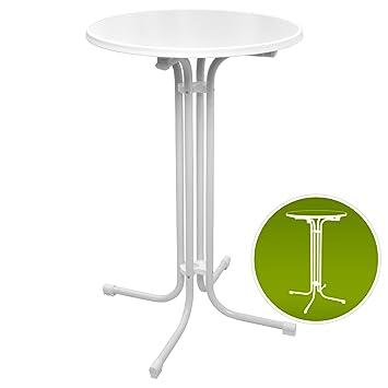 Table Haute de bistrot Pliante - Mange Debout - Ronde - Jardin ...