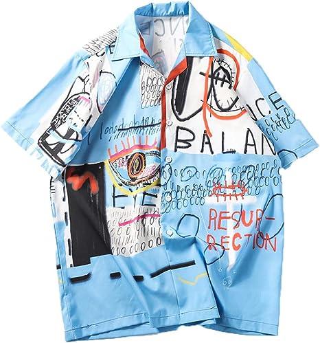 Camiseta Hombre Camisa Verano Camisetas Causales Polos Manga Corta Hombre Camisas Slim Fit Deporte Polo Verano Primavera T-Shirt Oficina: Amazon.es: Ropa y accesorios