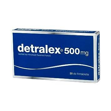 DETRALEX 500 mg - 30 tabletas - Hemorroides, Venas Varicosas ...