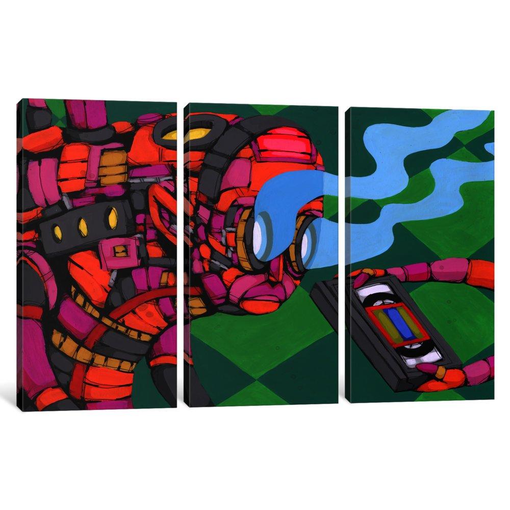 60 x 40//1.5 Deep iCanvasART 3 Piece Bring It Canvas Print by RIC Stultz