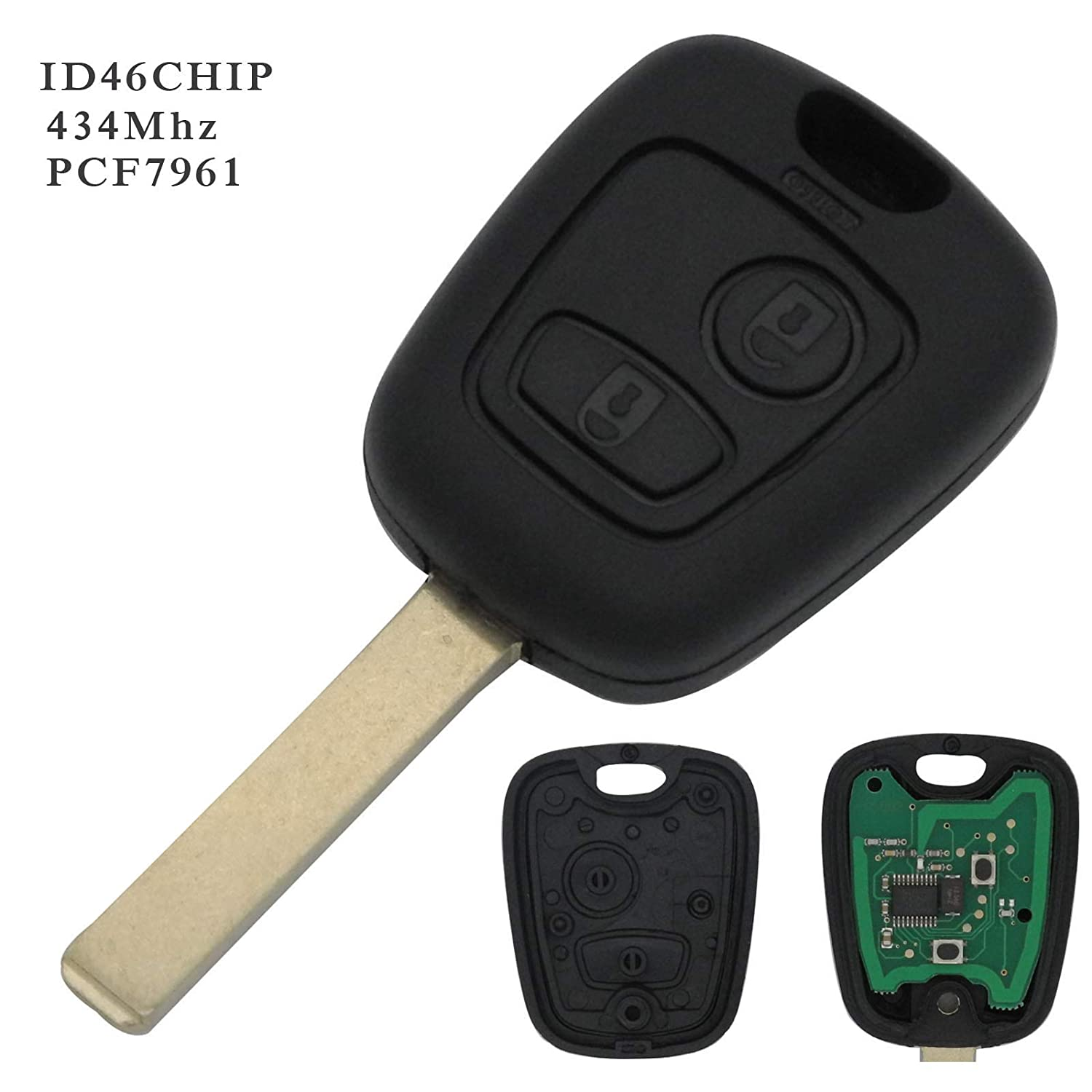 Remote Control Key Case with Programmable Electronics
