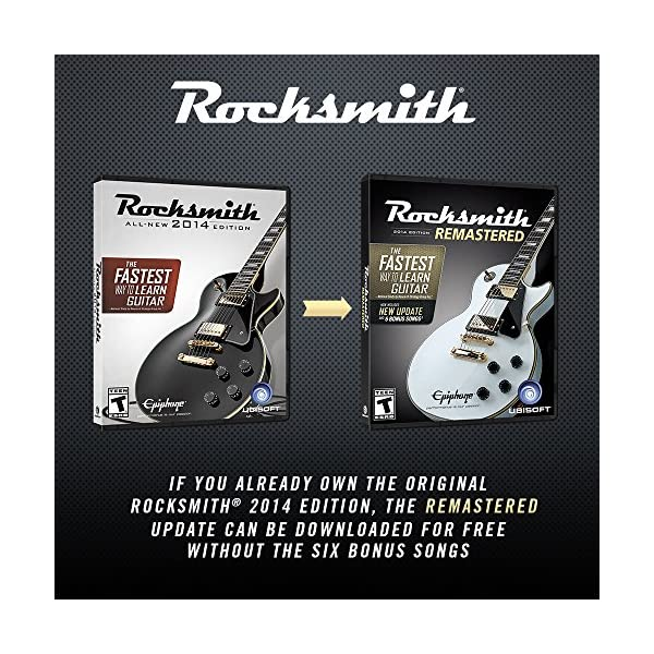 Rocksmith 2014 Edition Remastered - Xbox One Standard Edition 7