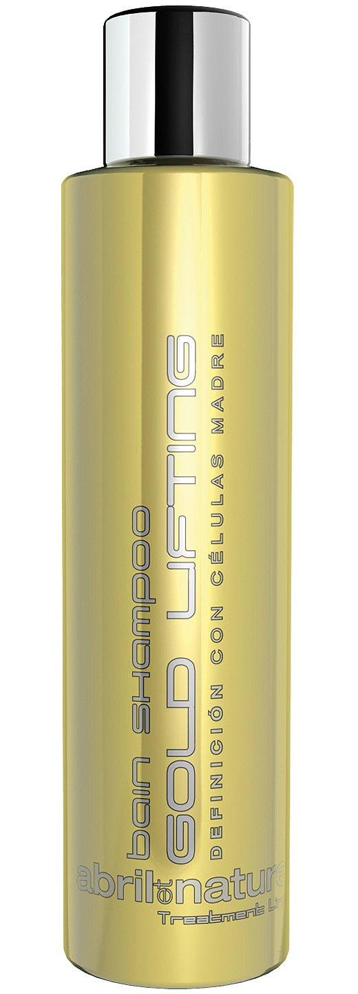 Abril_Nature Stem Cells Gold Lifting bain Shampoo 250ml(Curl)