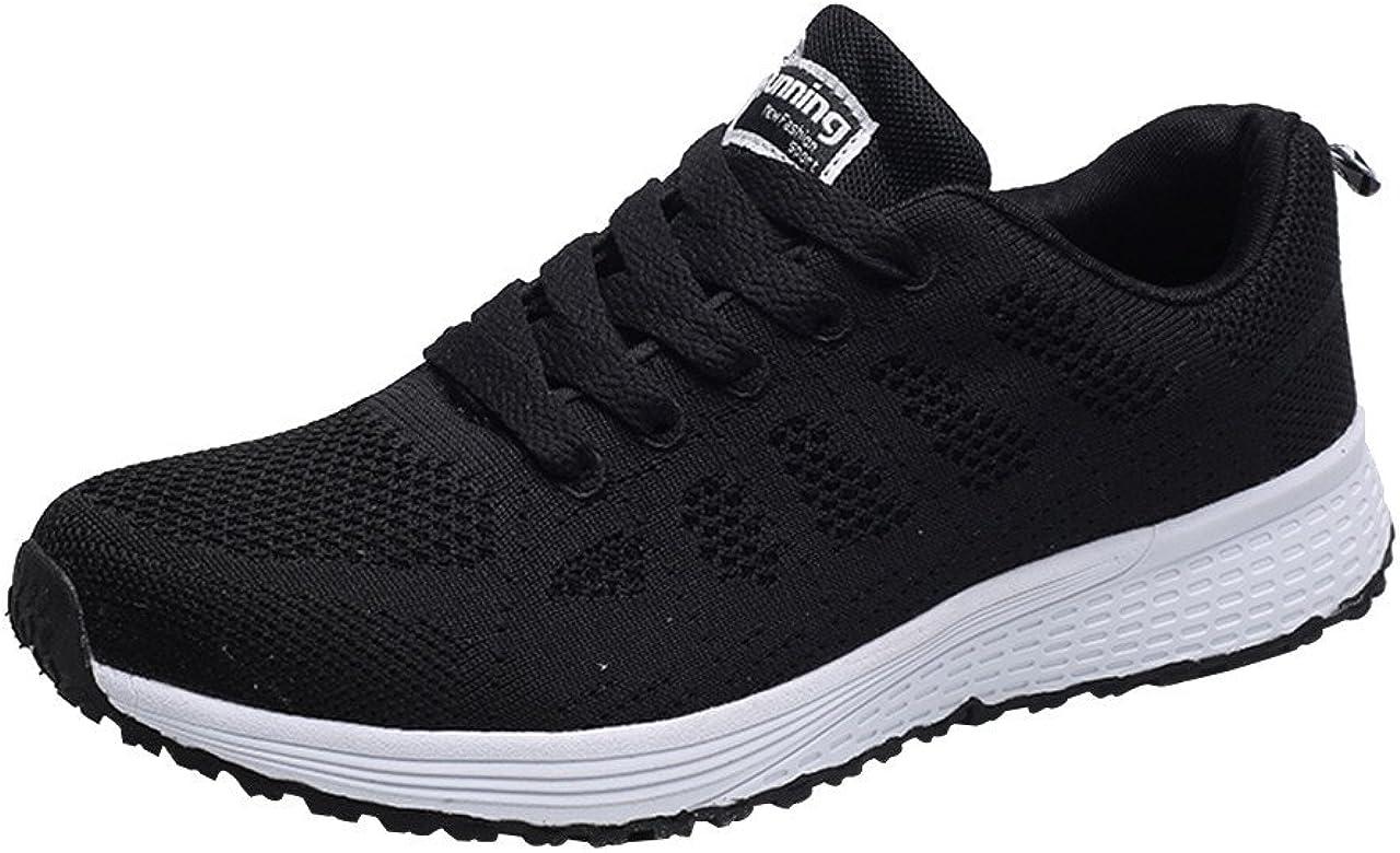 LEORTKS Zapatillas Deporte Hombres,Running 2019 New Moda para Hombre Malla Redonda Correas Cruzadas Zapatillas Planas Zapatillas de Deporte Calzado Casual: Amazon.es: Zapatos y complementos