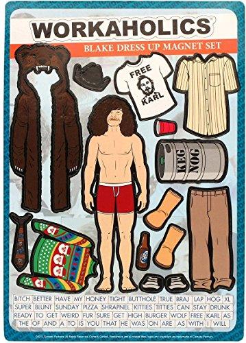 Workaholics Blake Dress Up Magnet Set]()