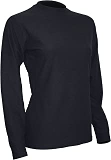 product image for Polar Max Women's Polar 4 Heavyweight Crew Neck Shirt, Black, Medium
