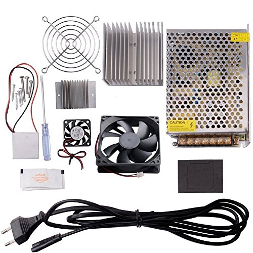 CHENBO(TM) Thermoelectric Cooler Peltier Tec1-12706 Kit Cold Plate Refrigeration Space Cooling Study Kit,Cooling System Learning Packages ()