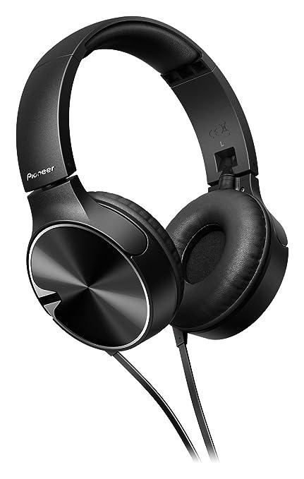 27 opinioni per Pioneer SE-MJ722T-K Cuffie con microfono, Nero