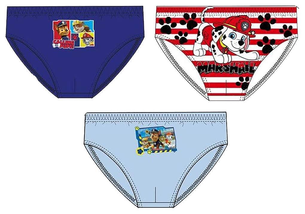 Underwear for Boys Licence in Cotton: Disney, Mickey, Paw Patrol, Peppa Pig, Spiderman.