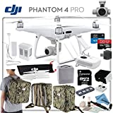 DJI Phantom 4 Pro Explorers Bundle: Includes High Capacity Intelligent Flight Battery, Backpack Case Pack - Camo Green, Sun Shade, High Speed 32GB MicroSD Card and more...