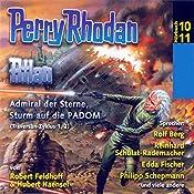 Atlan - Admiral der Sterne / Sturm auf die PADOM (Perry Rhodan Hörspiel 10+11, Traversan-Zyklus 1+2) | Clark Darlton, Robert Feldhoff, Hubert Haensel