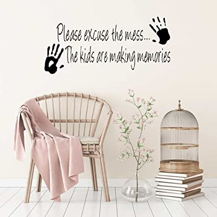 Amazon Amzkv Room Wall Stickers Quotes Making Memories Home Best Cartoon Home Quotes