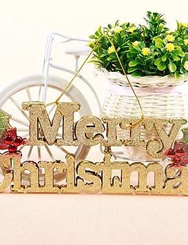 Vivi 2 Piezas Feliz Navidad 3d Stereo Ingles Carta Tarjeta Correa