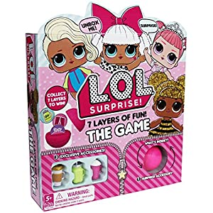 Cardinal Games L.O.L. Surprise 7 Layers of Fun –the Game Action Board