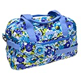 Vera Bradley Compact Traveler Bag (Blueberry Blooms)