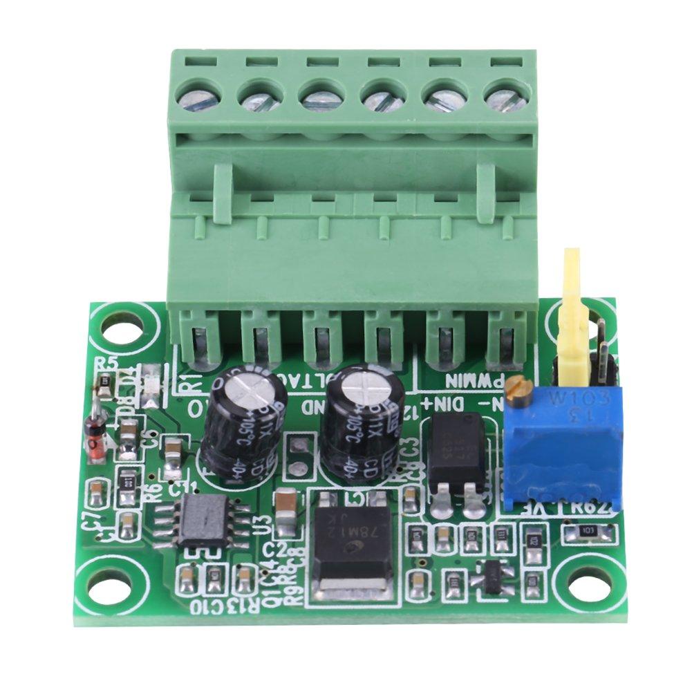 Module de conversion Convertisseur de tension en PWM 0-5V//0-10V Tension dentr/ée analogique jusqu/à 0-100/% du signal PWM 2KHZ-20KHZ 200mA