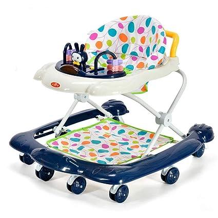 YOLL Altura-Ajustable del Bebé Andadores, 2 En 1 Bebé ...