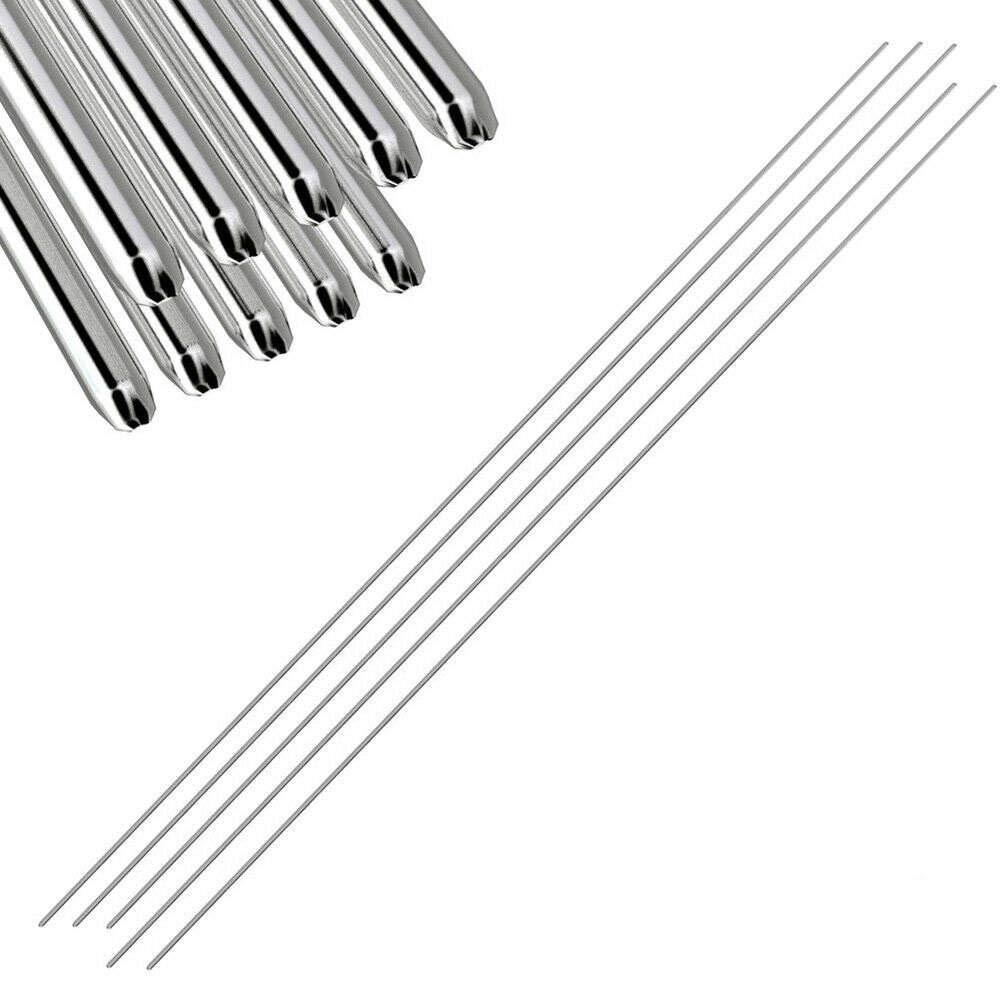 Aluminum Repair Rods, 5/10/20 PCS Easy Aluminum Welding Rods No Need Solder Powder Low Temperature (5, 1.6mm)