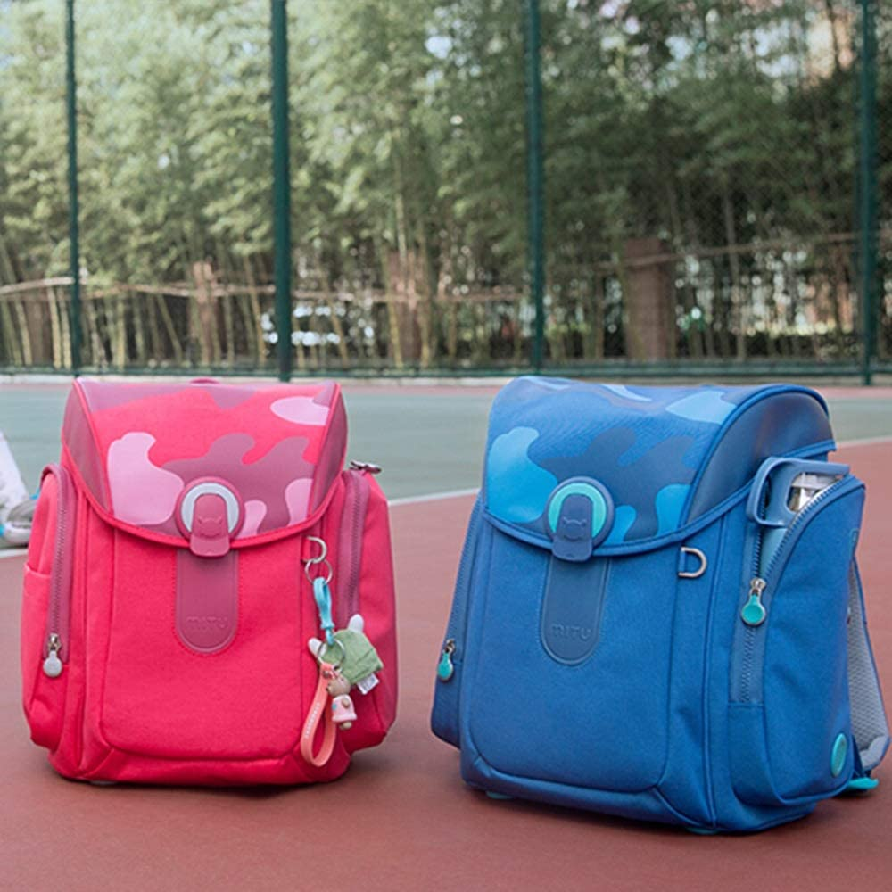 Childrens School Bag Primary School Bag Male and Female Large-Capacity School Bag Backpack YONGMEI Backpack Color : Pink