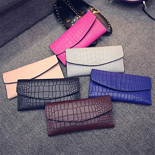 Pink Party Evening Clutch Skin Handbags Womens Croc Ladies Envelope Evening Embossed vHfwxXng5q