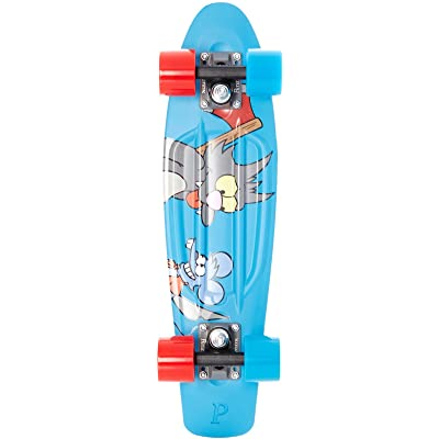 """Penny The Simpsons X Complete Skateboard Deck, Itchy and Scratchy, 22"""" L : Sports & Outdoors"""