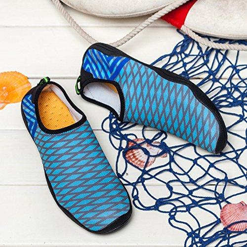 Sport da Elastico per Panno asciutte Scarpe Blu Immersioni all'aperto Scarpe Xnxdiao trampolieri Casual trentacinque Gli veloci Leggeri dell'Estate Spiaggia Amanti Epdwq