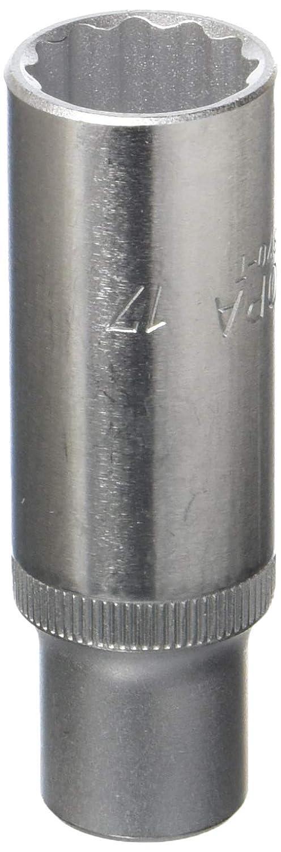 Elora 870003172000'870-T' 17mm 3/8' Bi-Hexagonal Extra Deep Socket