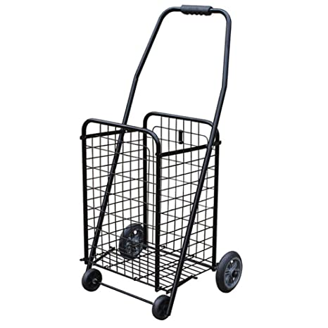El carrito de compras es conveniente para carros pequeños plegables, y el carrito de la