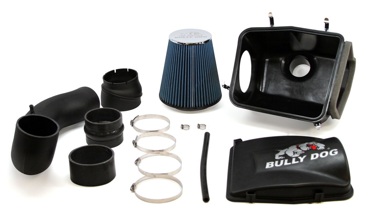 Bully Dog 53252 Stage 2 Rapid Flow Air Intake for GM Pick Up and SUV 4.8L, 5.3L, 6.0L, 6.2L