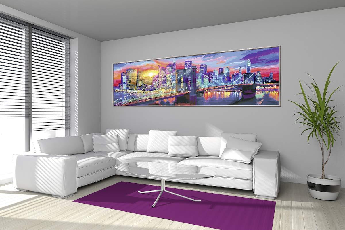 100 Leuchtendes New York 100 x 10 Meter XXL Malspaß Ravensburger