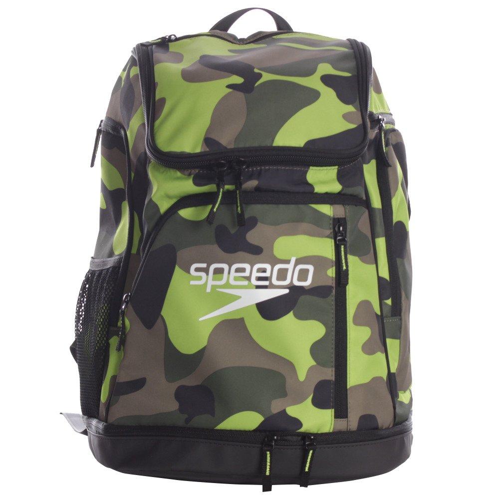 Speedo(スピード) プールバッグ スイマーズリュック SD98B20 B078BC4RKJ クリアグリーン クリアグリーン